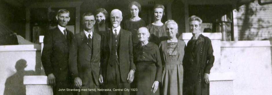 John emigrerade 1864 som 20-åring från Skog, Hälsingland.  B-M Sjöquists foto