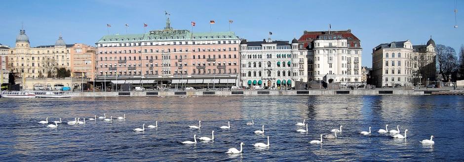 Norrström med Grand hotell. Foto: Rolf Olsson