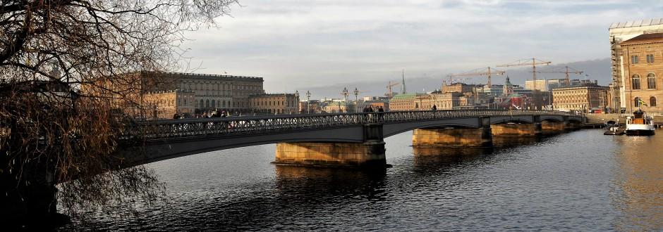 Skeppsholmsbron. Foto: Rolf Olsson