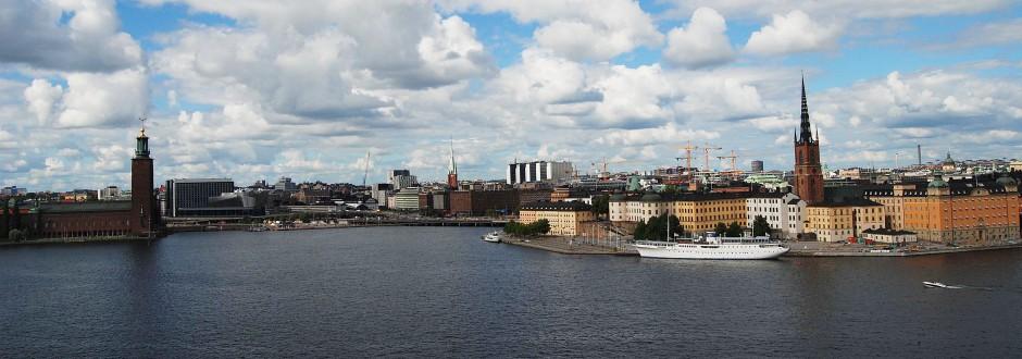 Stadshuset och Riddarholmen. Foto: Rolf Olsson